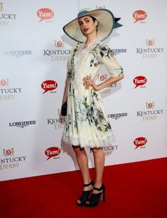 Which Celebrities Went Hat Crazy At The Kentucky Derby?