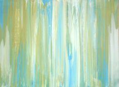 """Creekside 2011 Venetian plaster and acrylics on wood panel. 18"""" x 24"""""""