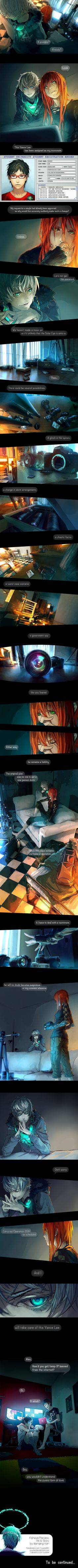 Fisheye Placebo: Ch0 - Part 2 by yuumei.deviantart.com on @deviantART