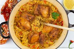 Asian Recipes, Ethnic Recipes, Asian Foods, Indonesian Food, Indonesian Recipes, Paella, Curry, Food And Drink, Risotto