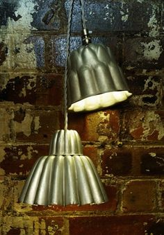 Wabi Sabi Art + Design from a Scandinavian perspective Natural elegance Scandinavian modern Harmonious style Creative spaces Clever DIY Tutorial Industrial Chic, Industrial Lighting, Kitchen Lighting, Vintage Jello Molds, Opening A Bakery, Aluminum Molding, Scandinavia Design, Commercial Kitchen, Cafe Design
