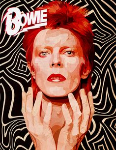 David Bowie Poster, David Bowie Art, David Bowie Ziggy, Angela Bowie, Rock Posters, Band Posters, David Bowie Wallpaper, David Bowie Labyrinth, Photographie Portrait Inspiration