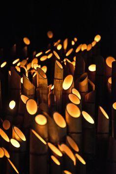 omotesando bamboo lights - Google Search