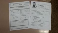 Common Core Differentiated Morning Work for 1st Grade