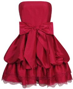little red dress=hello holiday parties!