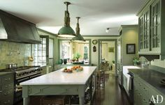 Kitchen | Michael S. Smith Inc. and Ferguson & Shamamian Architects LLP via Architectural Digest