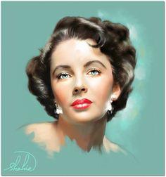 Elizabeth Taylor by shahin