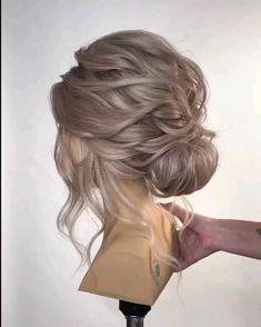 Wedding Hairstyles Tutorial, Wedding Hairstyles For Long Hair, Homecoming Hairstyles, Bridesmaid Hairstyles, Wedding Hair Tutorials, Hairstyles For Brides, Wedding Updo Tutorial, Big Hairstyles, Boho Bridesmaid Hair