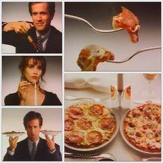 """Schmeckt wie beim Italiener."" - Und das schon seit 1985. Oetker Firmenarchiv (OeFA) // #OetkerHistory #Pizza #Ristorante Comfort Food, Pepperoni, Youtube, Italian Recipes, Food Items, You're Welcome, Food, Italian Man, Youtubers"