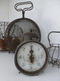 rare old eggs clock