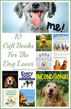 10 Gift Books For The Dog Lover. Find the perfect gift for that special dog enthusiast on your holiday list.