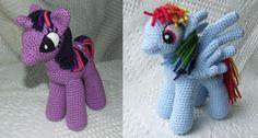 My Little Pony: Friendship is Magic: Free #crochet unicorn pattern