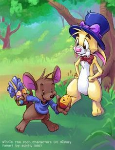I said Easter Rabbit and I really meant Rabbit. He did it best being an Easter Bunny. Winnie the Pooh character (c) Disney Easter Rabbit Winne The Pooh, Winnie The Pooh Friends, Eeyore, Tigger, Dreamworks, Pixar, House At Pooh Corner, Kenny Loggins, Pokemon