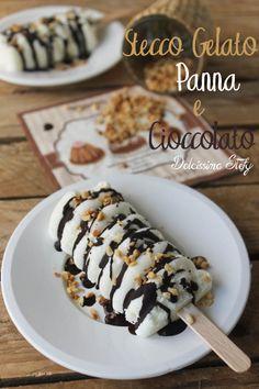 Gelato Panna e Cioccolato,ricetta Homemade  Have a look at our website: www.italiaamicamia.com  Follow us on Facebook: facebook.com/italiaamicamia