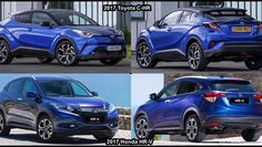 2017 Toyota C-HR Vs 2017 Honda HR-V - Видео Dailymotion