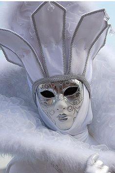 Venice Carnival. #masks #venetianmasks http://www.pinterest.com/TheHitman14/artwork-venetian-masks-%2B/