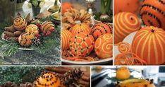 A narancs ízletes és vitamindús gyümölcs, és emellett dekorációként a jól alkalmazható. Ha megbontjuk a héját, önmagában is kellemes illatt... Holiday, Christmas, Pumpkin, Vegetables, Food, Environment, Natural Air Freshener, Thinking About You, Closets