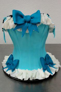 corset cake by slice custom cakes