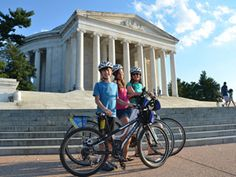 DC Bike and Roll: The Capital Sites at Nite Bike Tour was the highlight of our trip!  Most of the riding is flat and car-free, and the bikes are comfy.  In the summer, there are fireflies on the mall after sunset — it's magical.  It's worth doing this early in your trip, because you'll see most of the monuments and get oriented.