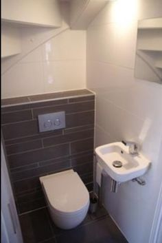Elegant toilet In Basement
