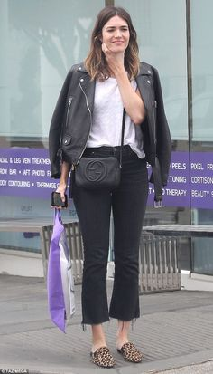 Best rest: Mandy Moore picked up a soothing sleep pillow while running errands in Los Angeles on Monday