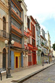 Rua do Bom Jesus - Recife - Pernambuco, Brazil