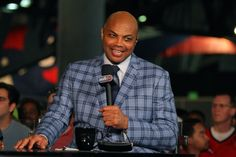 May 20, 2015; Atlanta, GA, USA; Former NBA player and current TNT television personality Charles Barkley prior to game one of the Eastern Conference Finals of the NBA Playoffs between the Atlanta Hawks and the Cleveland Cavaliers at Philips Arena. Mandatory Credit: Brett Davis-USA TODAY Sports ORG XMIT: USATSI-225524 ORIG FILE ID:  20150520_ajw_ad1_003.jpg