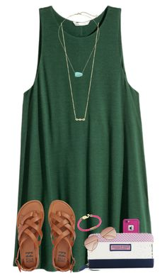 """""""Follow me on Insta~~@maribethreilly"""" by ponyboysgirlfriend ❤ liked on Polyvore featuring ZoÃ« Chicco, Kendra Scott, Billabong, LifeProof, Vineyard Vines and H&M"""