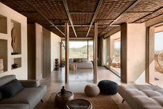 Suites at Olea All Suite Hotel & Spa, Zakynthos, Greece - Design Hotels™ Resort Interior, Greece Design, Casa Hotel, Mediterranean Architecture, Mediterranean Style, Lounge, Great Hotel, Hotel Interiors, Decoration