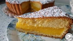 torta tira baci - Le Meraviglie di CicettaLe Meraviglie di Cicetta Bakery Recipes, Pie Recipes, Sweet Recipes, Biscotti, Fabulous Foods, Something Sweet, Confectionery, Vanilla Cake, Baked Goods