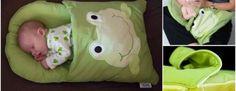DIY Pillowcase Sleeping Bag for Baby (Video)