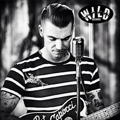 Mr. Pat Capocci is an @Kiera Purcell man. Give his music a listen. #vlv17 #wildrecords Pomade available at www.pomade.com