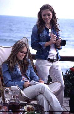 Olsen Twins when in Rome