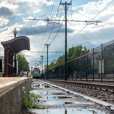 The aftermath of the freak hailstorm I got caught in yesterday. The afternoon was gorgeous due to the clearing up of the air and cool system the storm brought in.  Boston University Boston Massachussetts  #CHATraveler #summer #storm #sky #train #t #puddle #reflection #puddlegram #clouds #sky #sun #rays #boston #ma #bostonusa #greenline #pissedofftraindriver #mbta #theT by acedrewcha
