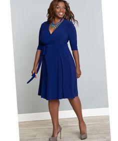 Plus size dresses blue - http://pluslook.eu/fashion/plus-size-dresses-blue.html. #dress #woman #plussize #dresses