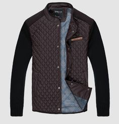 Men's Quilted Two Tone jacket