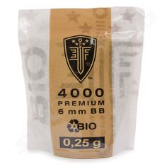 Elite Force Premium Bio BB 4000 Stk, 0,25 g, Kal. 6 mm  #shootclub #airsoft #softair
