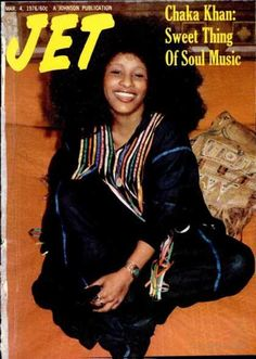 Chaka - Jet Magazine, 1976