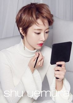Go Jun Hee's behind-the-scenes cuts for 'Shu Uemura' look as gorgeous as a final pictorial!   allkpop.com