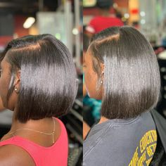 Gamay Hair Chinese Bob Raw Virgin Hair Wigs Silky Lace Front Wigs With Baby Hair Pressed Natural Hair, Natural Hair Bob, Natural Hair Styles, Short Hair Styles, Baddie Hairstyles, Twist Hairstyles, Straight Hairstyles, Human Wigs, French Twist Hair