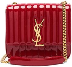 Saint Laurent Large Patent Monogramme Vicky Chain Bag Can t dent my LOVE  for this · Anti Valentines DayValentine ... 09d64928dfded