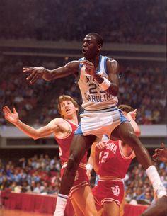 University of North Carolina: Jordan Pass Indiana (1983/84)