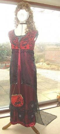 Edwardian splendor gown