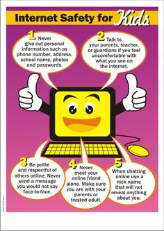 Internet safety lessons/ideas by grade level.