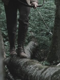 Hunger Games Aesthetic Walking on log Katniss Everdeen Katniss Everdeen, Story Inspiration, Character Inspiration, Writing Inspiration, Character Ideas, Half Elf, Rogue Assassin, Elf Ranger, Maleficarum