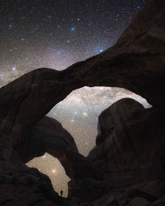 Creative Nightscape and Astrophotography by Jaxson Pohlman #inspiration #photography