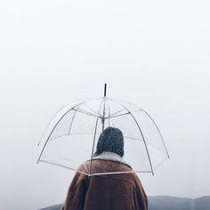 Transparent Umbrella   Portrait Photography