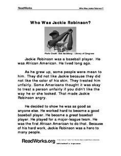 5 paragraph essay on jackie robinson Nichols-lawson 7th-grader receives visit from jackie robinson's daughter after winning breaking barriers essay contest (with photos)  then wrote essays describing a barrier they had overcome.