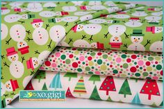 Sew Chatty- FABRIC GIVEAWAY for Xo Gigi Fabrics.