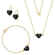 Komplet z serduszkami Swarovski Swarovski, Jewelry, Jewlery, Jewerly, Schmuck, Jewels, Jewelery, Fine Jewelry, Jewel
